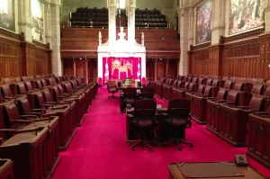 The Senate - the chamber of 'sober second thought'. And where my great-uncle was Assistant Clerk.