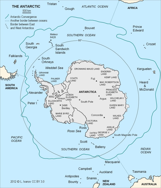 antarctic-convergence-map
